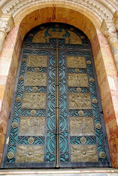 Cuenca Cathedral Door, Ecuador - Ben Church