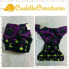 Os hidden pul purple toothless diaper, $30