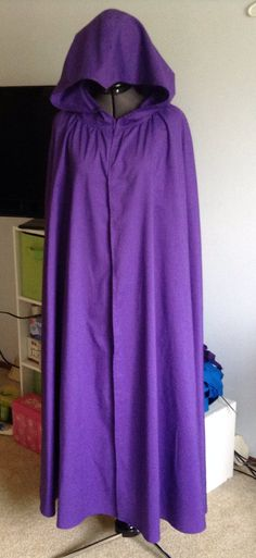 Adult Cosplay Hooded Cape suitable for Raven by CatherineBCrafts