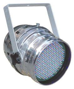 ColorKey StagePar 64 10mm LED Light RGB (SILVER) K30221S2, $147.99