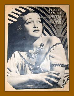 old movie stars photos | Vintage movie star scrapbook, 1943, Dorothy Lamour | Flickr - Photo ...