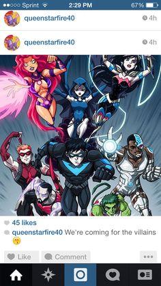 New Titans - Before New 52 by ~LucianoVecchio on deviantART - Dc comics Teen Titans Go, Teen Titans Fanart, Comic Book Characters, Comic Character, Comic Books Art, Comic Art, Nightwing, Batwoman, Batgirl