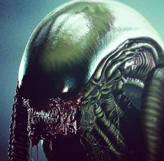 Incredible #Alien artwork by Locusta