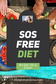 Why go SOS Free? Find out the benefits of removing salt, oil and sugar from your diet. What alternatives to salt, oil and sugar can you add in your meals and baking for healthier eating? Lose weight and get healthy! SOS Free Recipes, SOS Free products and SOS Free salad dressings and sauces are available. Discover foods to include and avoid in SOS Free diet. Try a whole food plant based/healthy vegan lifestyle way of eating for optimal health. #wholeFood #SOSVegan #oilFree #SaltFree #SugarFree Free Recipes, Whole Food Recipes, Get Healthy, Healthy Eating, Free Products, Vegan Lifestyle, Salad Dressings, Free Food, Vinaigrette