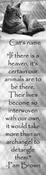 I KNOW there IS a Heaven and I KNOW we will see our pets there when our time comes.