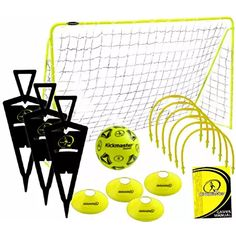 Goal Mini Football Soccer Target Training Post Practice Nets Outdoor Sports Kids for sale online Soccer Drills For Kids, Soccer Practice, Soccer Players, Football Soccer, Football Challenges, Buy Toys, Keep Fit, Train Set, Soccer Training