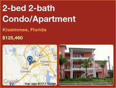 2-bed 2-bath Condo/Apartment in Kissimmee, Florida ►$125,460 #PropertyForSale #RealEstate #Florida http://florida-magic.com/properties/3195-condo-apartment-for-sale-in-kissimmee-florida-with-2-bedroom-2-bathroom