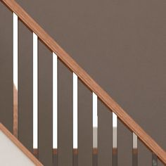 Scala Brushed Chrome or Black Spindles Stair Parts Metal Extruded Aluminium Staircase Spindles, Modern Stair Railing, House Staircase, Stair Railing Design, Wood Railing, Entry Stairs, Stair Handrail, Modern Stairs, Staircase Ideas