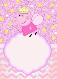 Originales invitaciones Peppa Pig para imprimir para tu fiesta Pitch your birthday party that's Invitacion Peppa Pig, Cumple Peppa Pig, 2 Birthday, Birthday Party Themes, Birthday Celebration, Peppa Pig Gratis, Peppa Pig Wallpaper, Peppa Pig Birthday Invitations, Pig Party