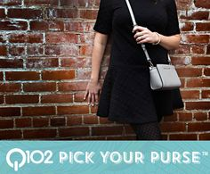 Michael Kors - Mini Crossbody. Go to wkrq.com to find out how to play Q102's Pick Your Purse!