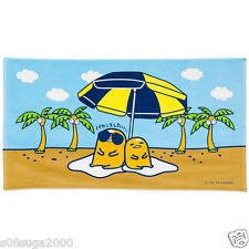 Gudetama Beach towel Summer F/S Worldwide SANRIO from JAPAN