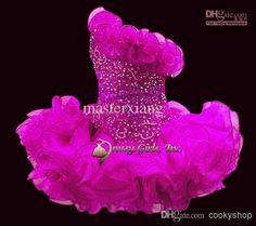 Sleeveless Beads Toddler Mini Infant Cupcakes Organza Ballgown Little Kid Wedding Flower Girls Dress Statenational Pageant Dresses Custom Ritzee Girl Pageant Dresses Short Pageant Dresses For Girls From Cookyshop, $65.97  Dhgate.Com