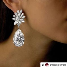 Christie's Geneva will present on November 15 this pair of spectacular diamond earrings, named 'Miroir de l'Amour', by newly launched jewellery brand Boehmer et Bassenge. Inspired by the 18th century French workshop, Boehmer et Bassenge have designed magnificent jewels entirely set with D colour, Internally Flawless or Flawless diamonds. The two pear-shaped diamonds in this pair of 'Miroir de l'Amour' earrings weigh 50.47 and...