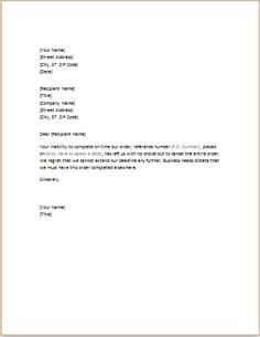business change of address letter