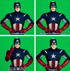 Ok but the cap psa cap psas are actually hilarious I love how he broke character