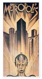 Premium-Poster Metropolis Wassily Kandinsky, Gustav Klimt, Fantasy Poster, Monet, Kino Film, Grafik Design, Entertainment, Collection, Chalkboard Canvas