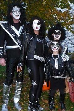 Kiss Kostüm selber machen | Kostüm Idee zu Karneval, Halloween & Fasching