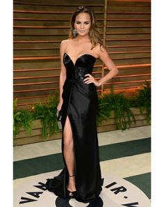 chrissy teigen  sexiest women at the oscars 2014