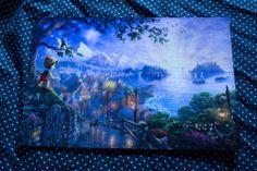 Thomas Kinkade Disney Pinocchio Wishes Upon A Star 8x12 Print | eBay $35