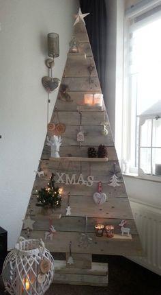 Arboles de navidad muy originales para tu casa!!