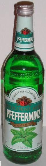 Goldene Aue Pfefferminzlikör Pfeffi von Nordbrand | Ostprodukte Verkauf