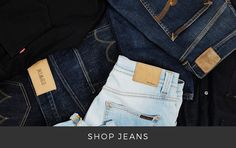 Shop new in Jeans at The Idle Man | #StyleMadeEasy