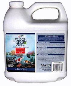 PondCare 269D Microbial Algae Clean, 64-Ounce by PondCare. $38.33. Promotes a cleaner pond environment. Reduces the noxious odor from the pond. Eliminate troublesome organic sludge and debris. Improves dissolved oxygen levels. Patented bacteria controls green algae. Contains a patented bacteria controlling green water algae in ponds with live fish and plants. It will eliminate troublesome organic sludge and debris, promote a cleaner pond environment, improve dissolved oxygen...