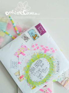 Bohème Circus: Use envelopes