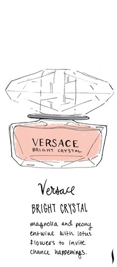 Versace Bright Crystal #sephora #fragrance #topnotes