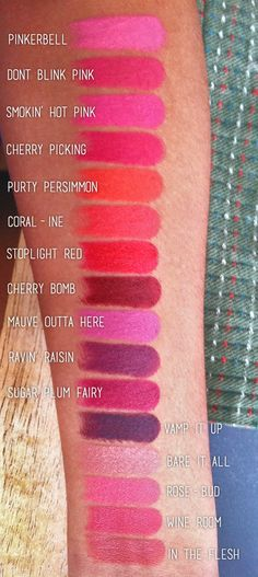 Wet n Wild Megalast lip colors. 1.99 each available at walgreens