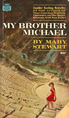 I could read Mary Stewart all day. Suspense, romance and mystery all set in exotic locations. I used to read her in junior high. I Love Books, Good Books, Books To Read, Sherlock Holmes, Beloved Book, Vintage Book Covers, It Goes On, Mystery Books, Romance Novels