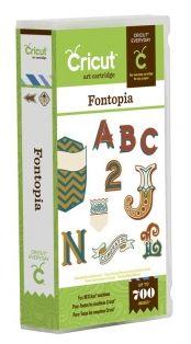Fontopia Cricut Cartridge