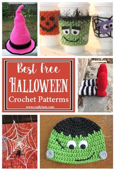 Best Free Halloween Crochet Patterns - Free Halloween crochet patterns are a great option to store-bought Halloween decorations. Especially if you're looking for budget-friendly options.