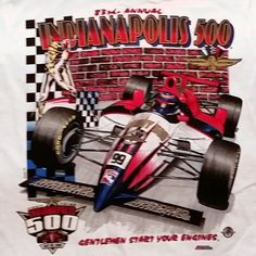 1999 INDY 500 Indianapolis Motor Speedway 83rd Starting Field  (S) T-Shirt Tee