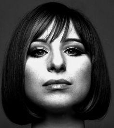 1963. Barbra Streisand. Photo by Richard Avedon (B1923 - D2004)