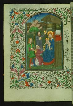 Book of Hours, Adoration of the Magi, Walters Manuscript W.246, fol. 73v | Flickr - Photo Sharing!