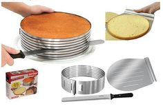 Cake Layer Slicing Kit | Hot New Kitchen Gadgets from the 2011 International Home & Housewares ...