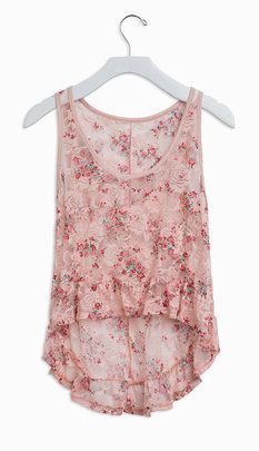 Freedom Lace Floral Tank