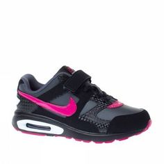 Nike Trainers Shoes Kids Air Max Chase Leather Black Nike.  57.89 faf52d043f