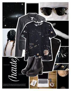 """""""To Infinity and Beyond..."""" by i-dont-do-mornings on Polyvore featuring Ray-Ban, MANGO, American Eagle Outfitters and Valentino"""