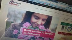 Nuevo artículo escrito para el #blog de @mosquiterasbaratasoficial . Especial para los que sufris #alergias en Primavera. En breve estará en su web Mosquiterasbaratas.com y en sus redes sociales :)
