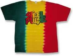 """Steel Pulse """"Rasta"""" Tie-Dye T-Shirt"""