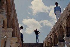The Beatles Photo Vault — The Beatles filming HELP in 1965
