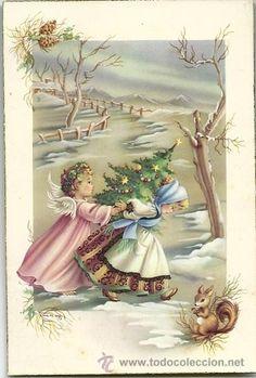 0798H - EDICIONES CYZ SERIE 595.A Nº 5 - DATA 1959 ILUSTRA M.R.G (Postales - Dibujos y Caricaturas)
