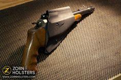 Thompson Encore crossdraw, custom Kydex holster.