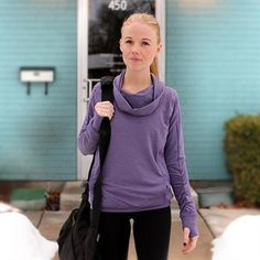 Sport and Athletic Tops for Women | pullover, perfectly plum :)