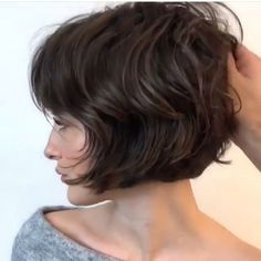 The post appeared first on Frisuren Dutt. The post appeared first on Frisuren Dutt. Short Hair Styles For Round Faces, Hairstyles For Round Faces, Short Bob Hairstyles, Pretty Hairstyles, Short Hair Cuts, Curly Hair Styles, Latest Hairstyles, Summer Hairstyles, Grunge Hair