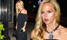 Rachel Zoe makes elegant arrival to fashion event in boho-chic frock