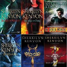 The League Series by Sherrilyn Kenyon
