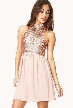 Dazzling Darling Sequined Dress | FOREVER21 - 2000091768